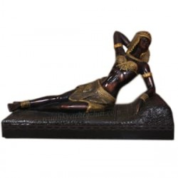 An Ancient Egyptian Queen - Cleopatra Statue