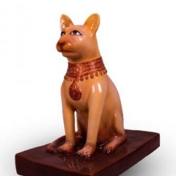 Ancient Egyptian Cat Statue