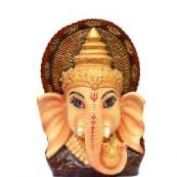 Beautiful Ganesha Face Multi-color Showpiece