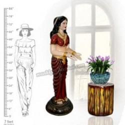 Beautiful Indian Lady Statue