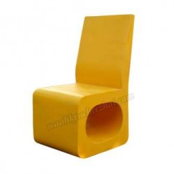 Beautiful Unique Yellow Chair
