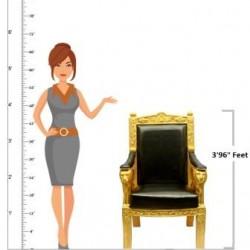 British Royal Golden Lion Chair