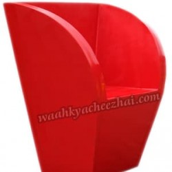 Stylish Red Chair (6-Set)