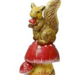 Colorful Statue of Squirrel
