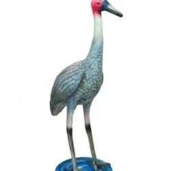 Crane - A Real Look Statue