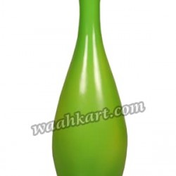 Decorative Plain Flower Vase Green