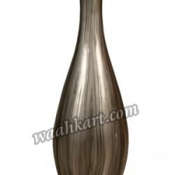 Decorative Plain Flower Vase Grey