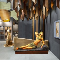 Egyptian Queen - Cleopatra Statue in Laying Down Position