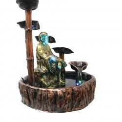 Circular Step Diya Fountain With Sai Statue