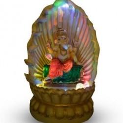 Single Cascade Diya Lord Ganesha Fountain