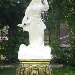 God Of Law (Insaff Ki Devi With Metallic Stool)