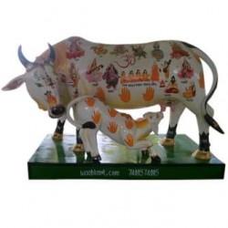 Kamdhenu Cow with Calf