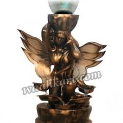 Garden Lamp In An Angel Look