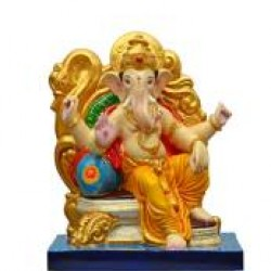 Multi-color Lord Ganesha
