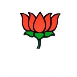 BJP 3D Kamal Logo