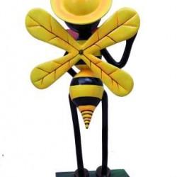 Queen Honey Bee Garden Decor