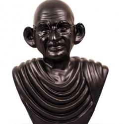Mahatma Gandhi Statue- Metallic Color