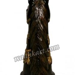 Royal Black Horse Idol-Golden Art