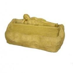 Designer Stone Looked Sleeping Buddha Fountain