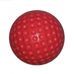 PU Dimple Cricket Ball (Red)- 4 Balls