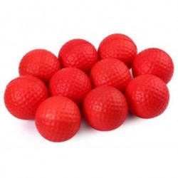 PU Dimple Cricket Ball- Red