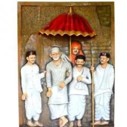 Shirdi Sai Baba 3D Mural