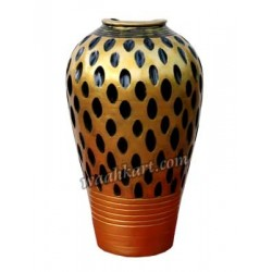Special Combo Pack Of Spotted Golden Flower Vases