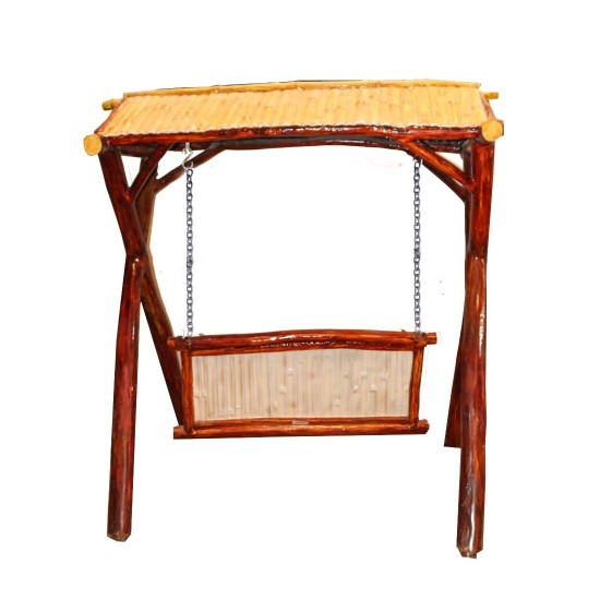 Swing- Jhulla In Wooden Texture
