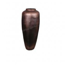 Big Size Vase in Copper Metallic Color