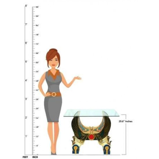 Attractive Egyptian Look Center Table