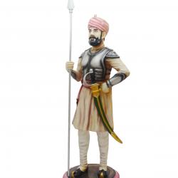 Traditional Darbaan Statue