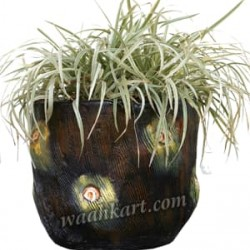 Wooden Look Decorative Planter