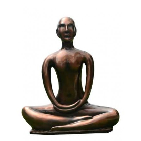 Yoga Statue In Meditating Position