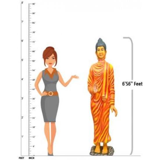 Gautam Buddha In Real Size Statue
