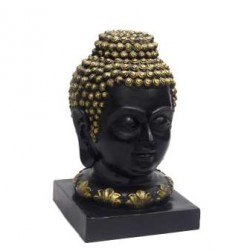 Golden And Black Buddha Showpiece