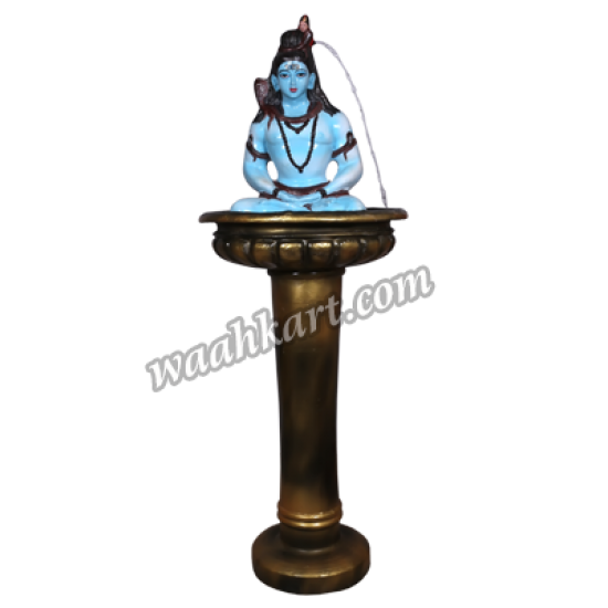 Fountain with Mahadev and Golden Pot-Combo Pack