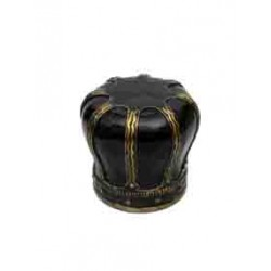 Black Crown Shape Stool